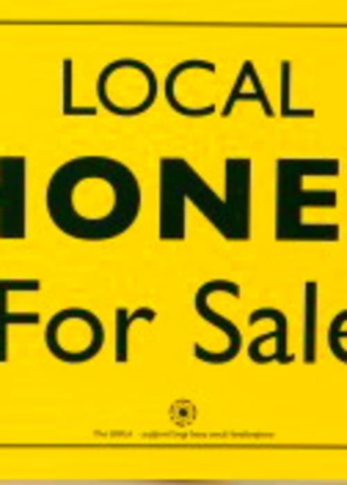 Sign - Honey for Sale