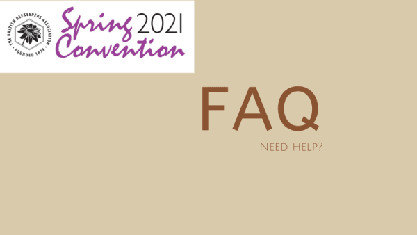 FAQ for Spring Convention