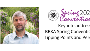 Keynote address BBKA Spring Convention 2021: Tipping Points and Perceptions